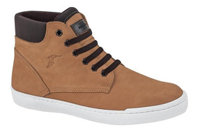 Tenis Casual Tipo Bota Goodyear 19cp Cafe 150263