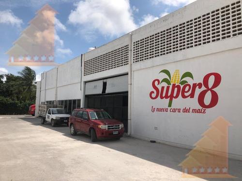 Imagen 1 de 13 de Bodega Con Oficina Y Seguridad 24/7 220 M² Av Colosio Cancún
