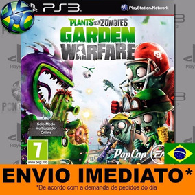 Jogo Ps3 Plants Vs Zombies Garden Warfare Psn Play 3 Digital
