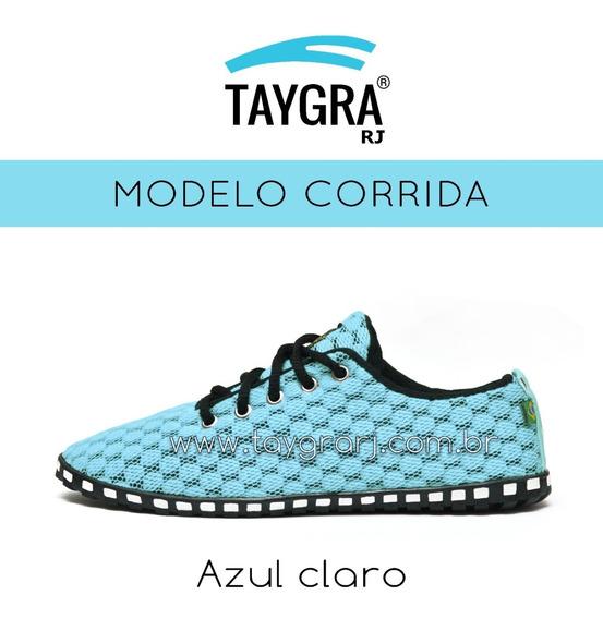 Sapatilha Taygra Corrida - Varias Cores Azul Pronta Entrega