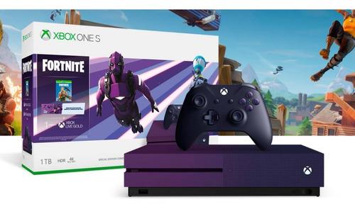 Consola Xbox One S De 1tb 4k Edicion Especial Fornite Nueva