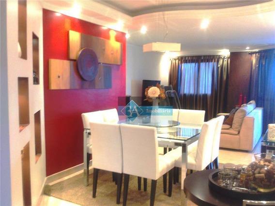 Apartamento Com 3 Dormitórios Para Alugar, 127 M² Por R$ 3.000,00/mês - Água Rasa - São Paulo/sp - Ap0420