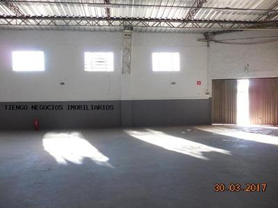 Barracão Para Locação Em Limeira, Jardim Anavec, 2 Banheiros - 6700