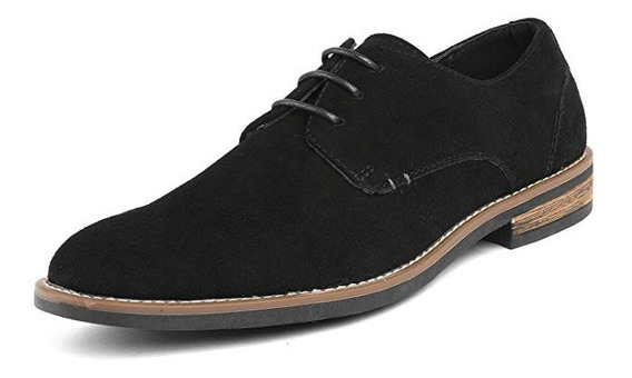 Zapatos Clasicos Oxford Bostonianos Gamusa Formal Casual