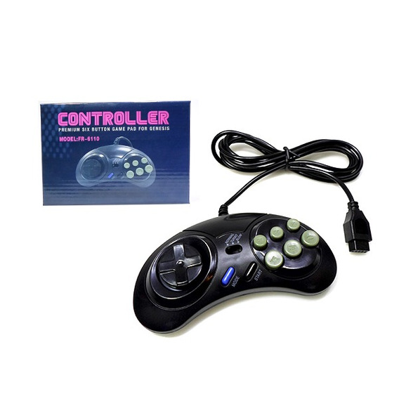 Controle Remoto P/ Mega Drive Sega Genesis (fr-6110)