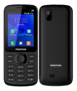 Celular Positivo P70 Dual Chip, Preto, Tela 2.4 , 3g