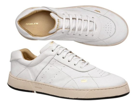Tenis Soho Branco Napa - Skm416