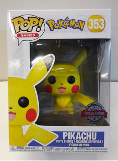 Funko Pop! Games Pikachu 353 Pokemon Edicion Especial Orig.
