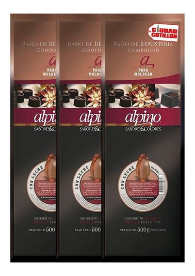 Oferta Esp - 3 Tabletas Alpino Lodiser - Ciudad Cotillón
