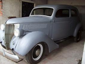 Ford 1936 V8 Sedan 2 Portas Carro Antigo De Coleçao
