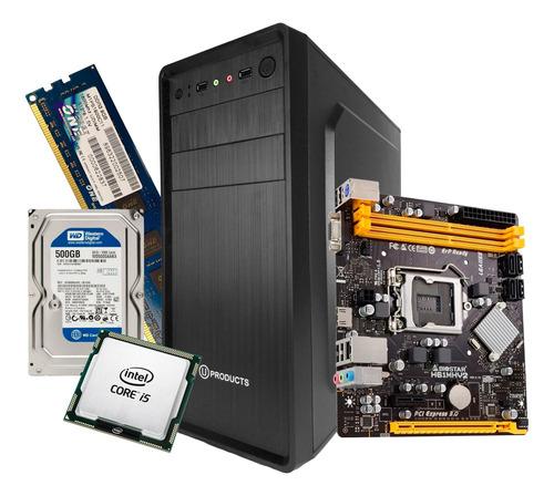 Computadora Intel Core I5 8gb Disco 500gb Nueva Somos Tienda