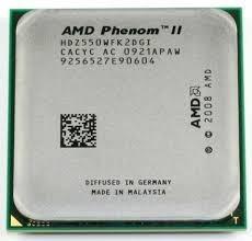 Amd Phenom Ii X2 550 3,1 Ghz Oem Black Edition Com Garantia!
