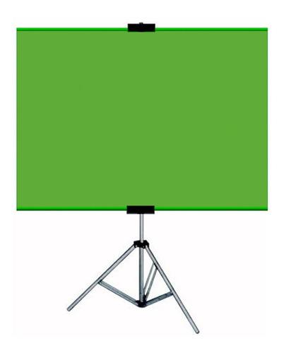 Imagem 1 de 2 de Tela Chroma Key Fundo Infi.tela Home Office Zoom Green+bolsa