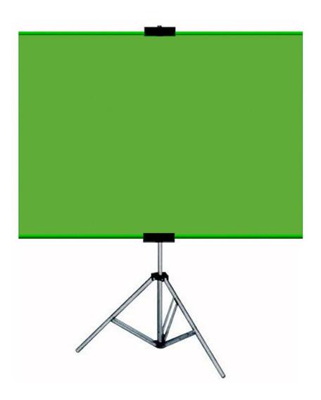 Tela Chroma Key Fundo Infi.tela Home Office Zoom Green+bolsa