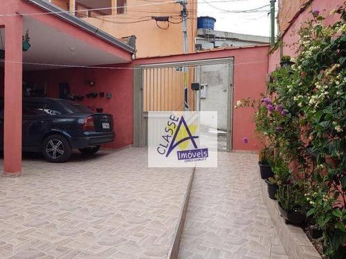 Imagem 1 de 5 de Casa Com 2 Dormitórios À Venda Por R$ 181.000 - Jardim Oratório - Mauá/sp - Ca0249
