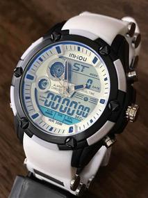 Relógio Masculino Original Aprova De Água Barato !!!