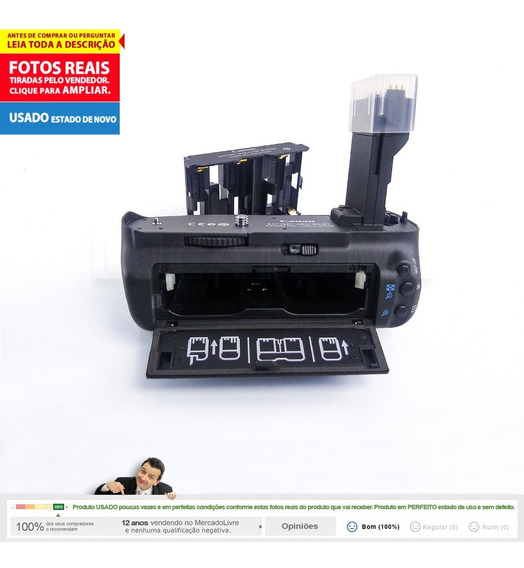 Battery Grip Original Canon Bge7 Somente Para Eos 7d Dslr 2b