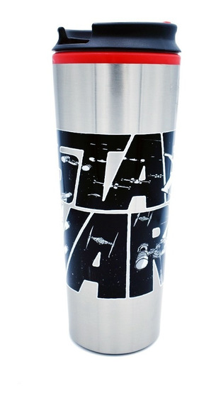 Termo Cafe Star Wars Acero Inoxidable Vaso Termico 450ml