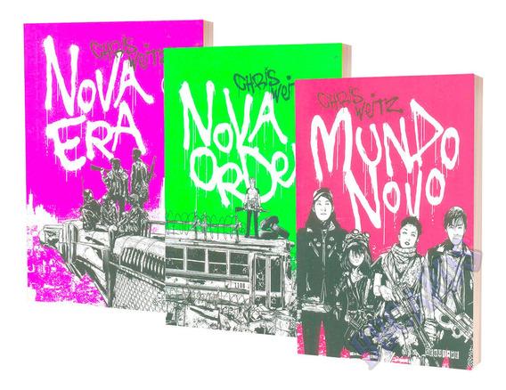 Livro Infanto Juvenil Trilogia Nova Era Novo Mundo