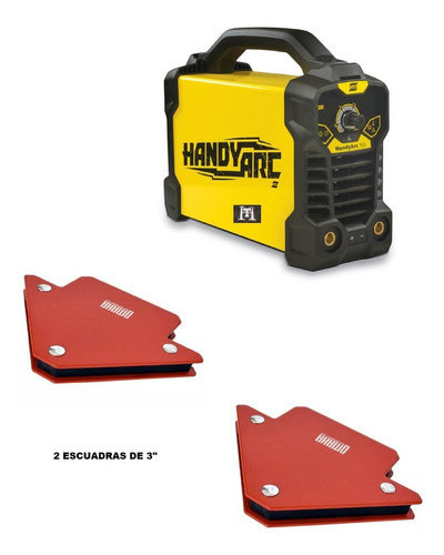 Soldadora Inverter Esab Conarco Handy Arc 162i Hasta 3,20 Mm