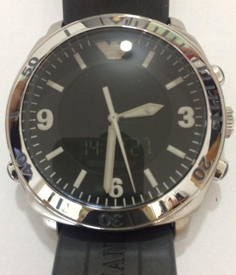 Relógio Emporio Armani Multifunção Novo Original