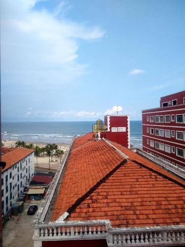 Imagem 1 de 19 de Apartamento À Venda, 56 M² Por R$ 190.000,00 - Ocian - Praia Grande/sp - Ap1347