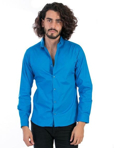 Camisa Slimfit Precio De Fabrica Corte Pegado
