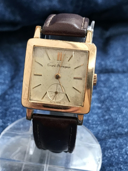 Relógio Nivel Omega Girard Perregaux Anos 40 Masculino