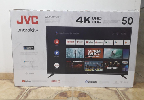 Jvc Televisor Smart Led Android Uhd 4k 50 Lt-50kb507