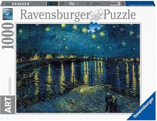 Puzzle 1000pz Noche Estrellada Rodano Van Gogh Ravensburger