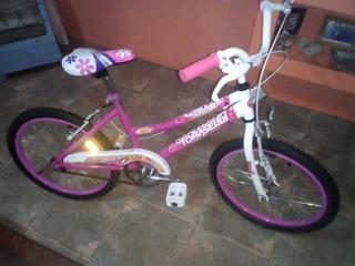 Bicicleta Tomaselli Kiss Rodado 20 Nena