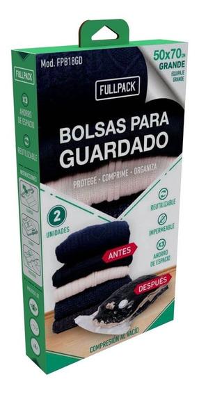 Bolsas De Compresion Para Guardado Grande (set X 2u.) Fullpa