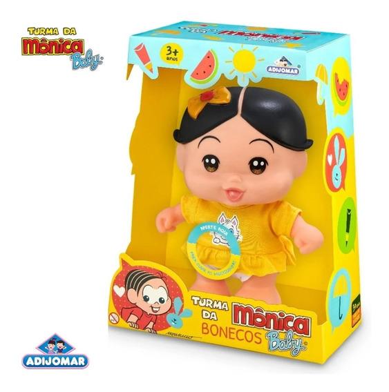 Boneca Magali Turma Da Monica Baby - 413 Adjomar