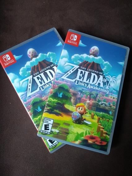 The Legend Of Zelda Links Awekening Switch Lacrado Mídia