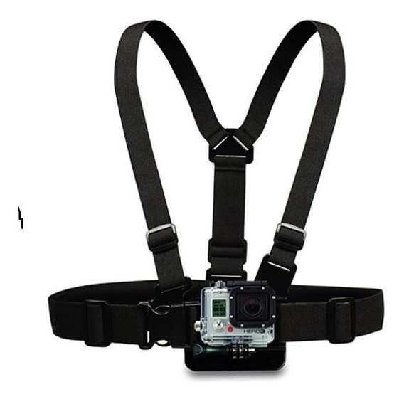 Suporte Peito/chest Mount Gopro Hero 3, Hero 4, Hero 5 Black