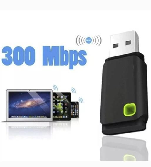 Receptor Antena Wifi Usb Tarjeta 300mbps