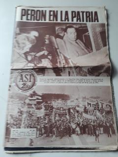 Asi. Vuelta De Peron En 1973