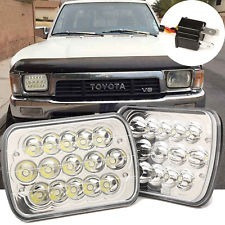 Faros Led Toyota Pick Up Tacoma Y 4runner 82-97 2 Pzas