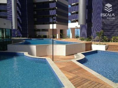 Apartamento Com 2 Dormitórios Para Alugar, 56 M² Por R$ 3.200/mês - Meireles - Fortaleza/ce - Ap0390