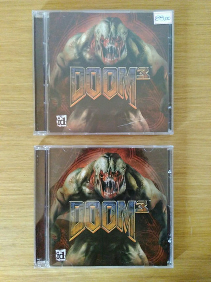 Jogo Pc Doom 3 - 3 Cds