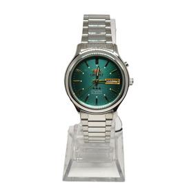 Relogio Orient Automatico Masculino Caixa - Verde / 2 Chave