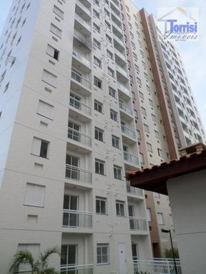 Apartamento Em Praia Grande, 02 Dormitórios, Sala Com Varanda, 01 Vaga. Lazer Completo Na Ocian Ap2010 - Ap2010