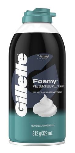 Espuma Afeitar Gillette Skin X 312g