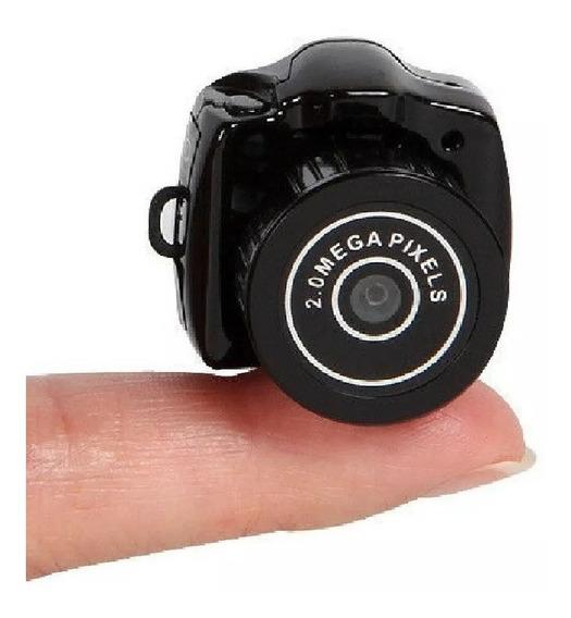 Mini Camera Hd Micro Camera Espiã Tira Fotos Grava Videos Audio Digital Perfeita Portatil Exclusividade Lançamento