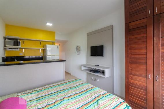 Studio No 4º Andar Mobiliado Com 1 Dormitório - Id: 892973340 - 273340