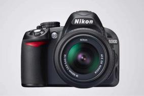 Câmera Nikon D3100 Com Lente De Kit 18-55mm + Lente 50mm