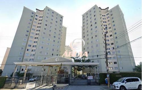Apartamento Com 3 Dormitórios À Venda, 60 M² Por R$ 320.000,00 - Parque Marajoara - Santo André/sp - Ap2255