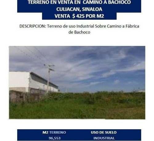 Terreno En Venta De Uso Industrial, Sobre Camino A Fabrica Bachoco