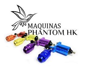 Máquina De Tatuagem Rotativa Phantom Hk Tattoo Híbrida Linda
