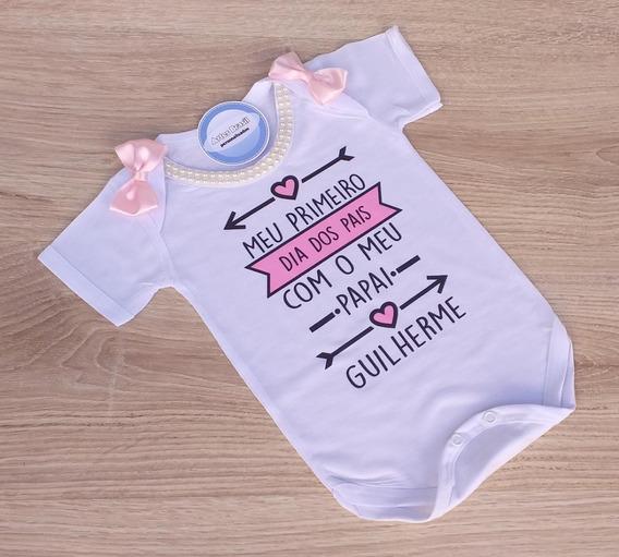 Body Personalizado Dia Dos Pais